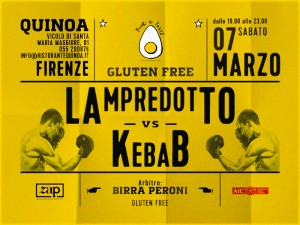 LAMPREDOTTO vs KEBAB @ QUINOA, ZAP - Zona Aromatica Protetta | Firenze | Toscana | Italy