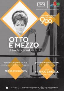 Proiezione gratuita di Otto e mezzo di Fellini @ ZAP - Zona Aromatica Protetta | Firenze | Toscana | Italy