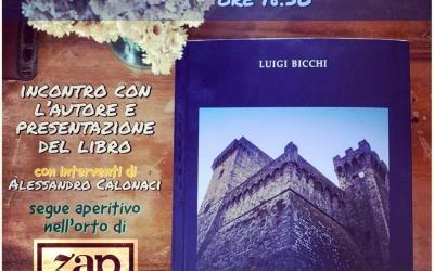 """Giovedì 23 maggio presentazione del libro """"È caduto giù l'Armando"""" di Luigi Bicchi"""
