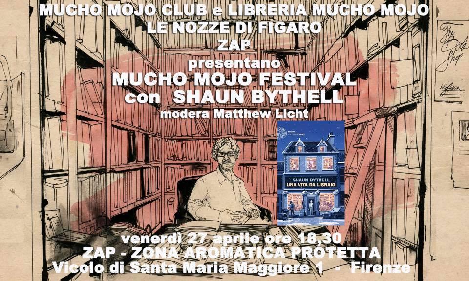 Incontro con lo scrittore Shaun Bythell