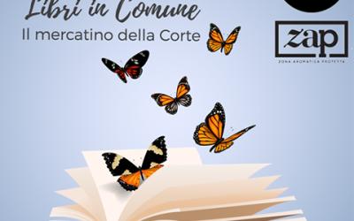 Libri in Comune, il mercatino nella corte