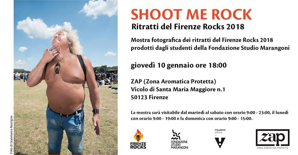 Shoot Me Rock – Firenze Rocks 2018