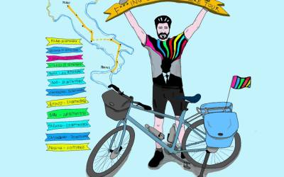 "Presentazione di ""F***ING GENIUS BOOK BIKE TOUR"" di Massimo Temporelli"