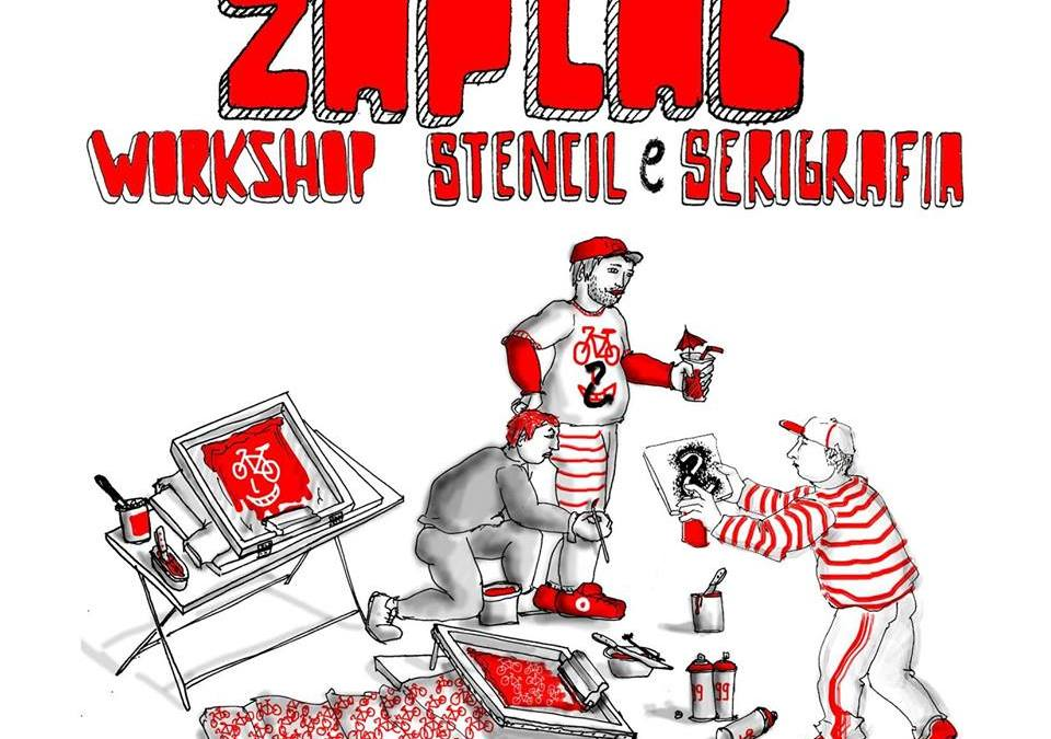 ZAPLAB con lo street artist Hopnn